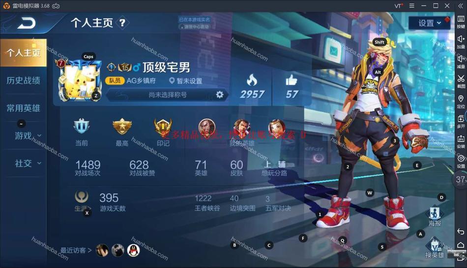 D【安卓QQ】71英雄60皮